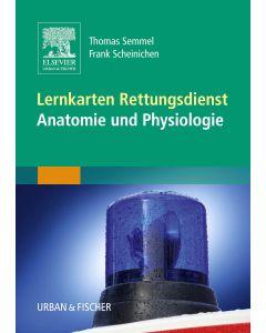 Lernkarten Rettungsdienst Anatomie Und Physiologie 9783437487606 Elsevier Gmbh